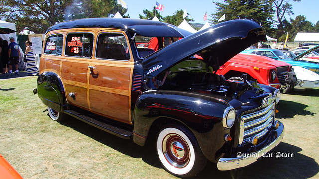 1953 GMC Suburban 3 Speed