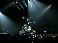 Royal Blood opening at the Xcel Energy Center for the Foo Fighters