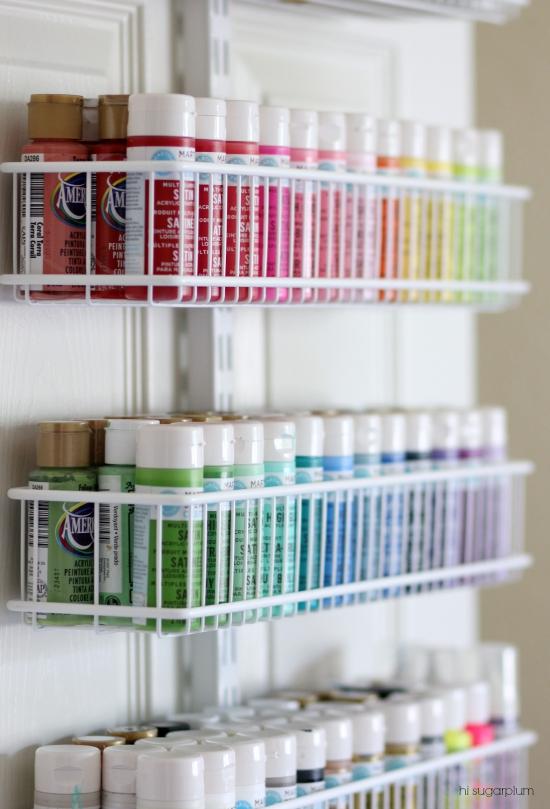 Hi Sugarplum | Organized Craft & Gift Wrap