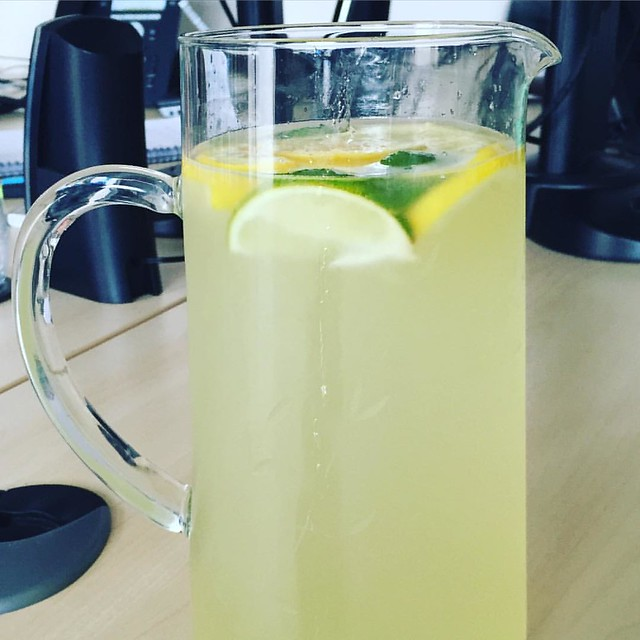'Close your eyes and it could be a margarita...' Mum on this week's detox drink.