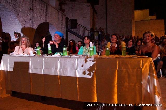 Grande successo per la seconda edizione di Fashion sotto le stelle-La giuria del Concorso