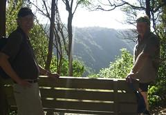 130228 Manawatu Gorge walk - Malcolm & Steve