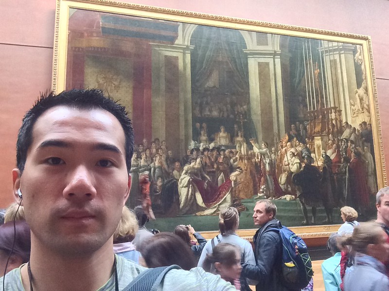 Saw this in history class. Coronation of Napoleon I at the Louvre.