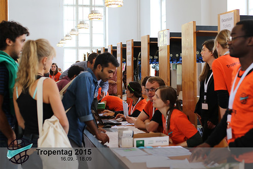 Participants at Registration