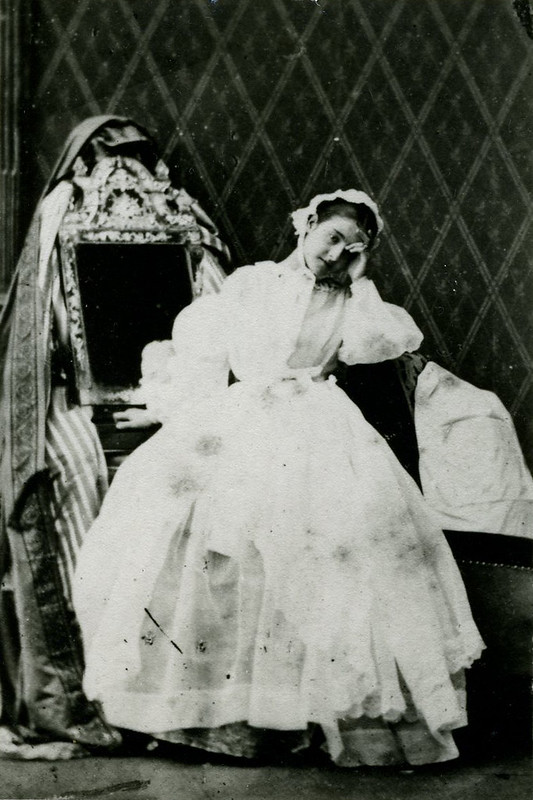 Adelina Patti as Violetta in La traviata © Royal Opera House