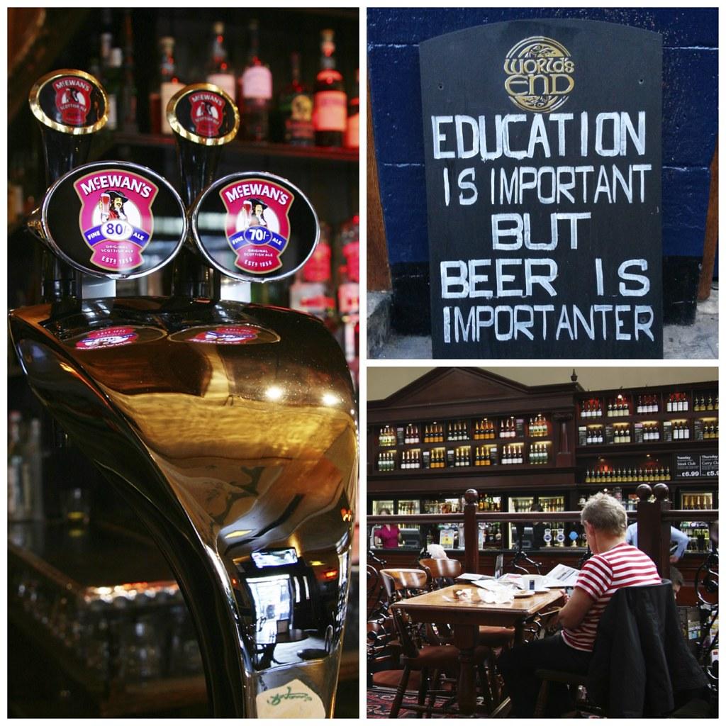 Pub en Edimburgo
