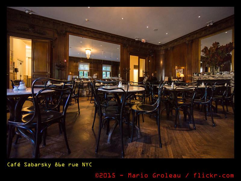 Café Sabarsky 86e rue NYC