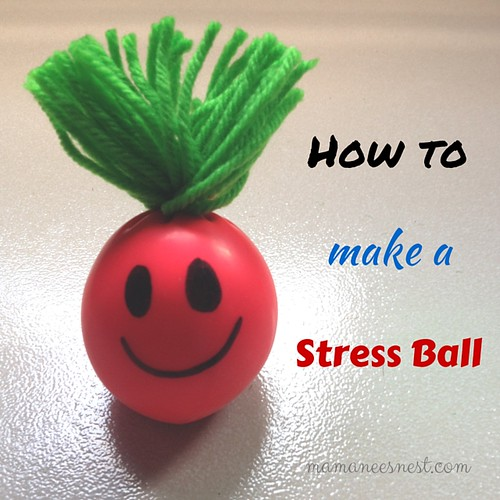 Mamanee's Nest: D.I.Y | How To Make Your Own Stress Ball