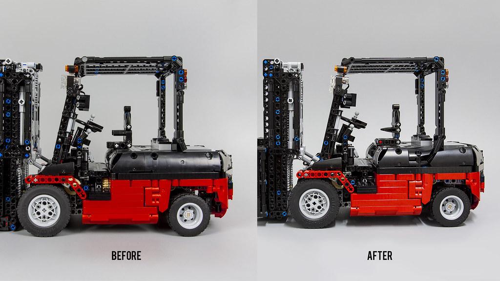 Moc Custom Forklift Mk Ii Lego Technic Mindstorms Model Team