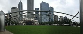 Chicago - Millenium Park J Pritzker Pavilion