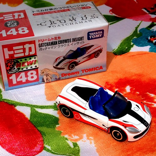Dream Tomica No.148 Tommykaira ZZ, Gatchaman Crowds Insight