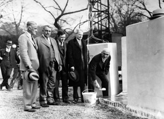 1931: The cornerstone laid for the Botanic Garden.