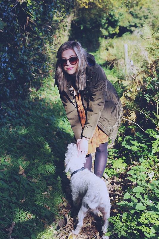 Joules coat outfit post