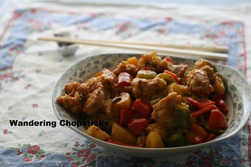 Chinese Sweet and Sour Chicken 1