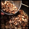 #Homemade Mini #Meatballs & #Mushrooms #CucinaDelloZio - add the cremini mushrooms