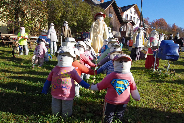 Doll Garden of Sabile, Latvia
