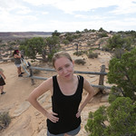 Emily at the Fiery Furnace, Arches