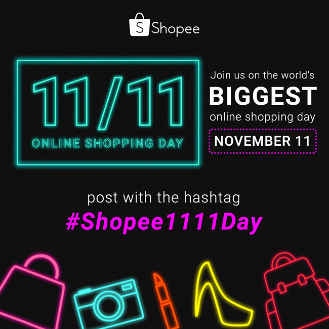 Shopee1111Day - social media