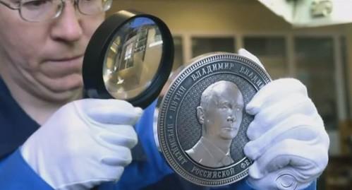 Crimea annexation coin