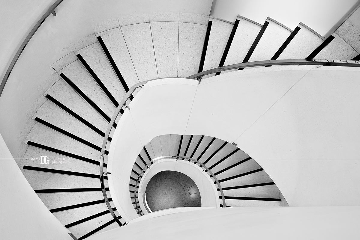 """Tate Britain Staircase"" London, UK by David Gutierrez Photography, London Photographer"