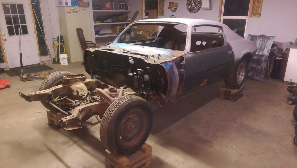 1970 Camaro Project for sale | NastyZ28 com