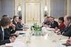 U.S. Secretary of Commerce Penny Pritzker visits Kyiv, Ukraine, Meeting with President Poroshenko, October 26, 2015