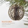Mandarin. Christmas tree ornament by cartonus