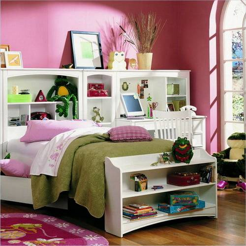 Some Interesting Storage Ideas For Kids Bedrooms To Keep The Room Clutter-Free