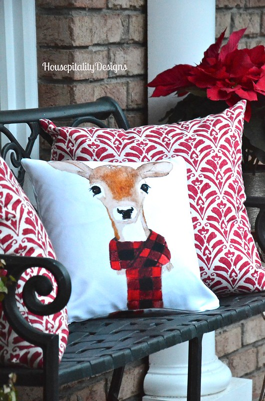 Reindeer Pillow - Housepitality Designs
