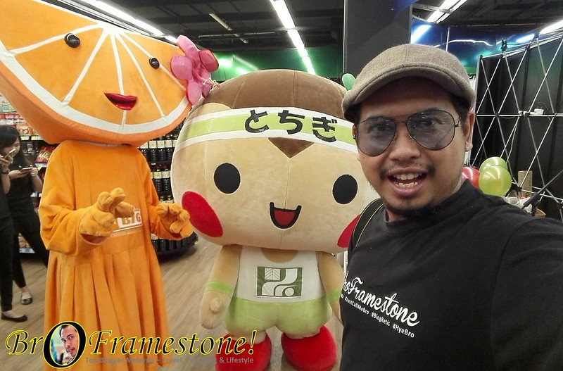 Majlis Pelancaran Nikkori Pear dan Ibaraki Japanese Sweet Potatoes di Aeon Big, Mid Valley