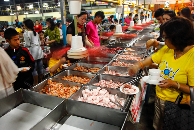 Sukontha Buffet Raw Meat