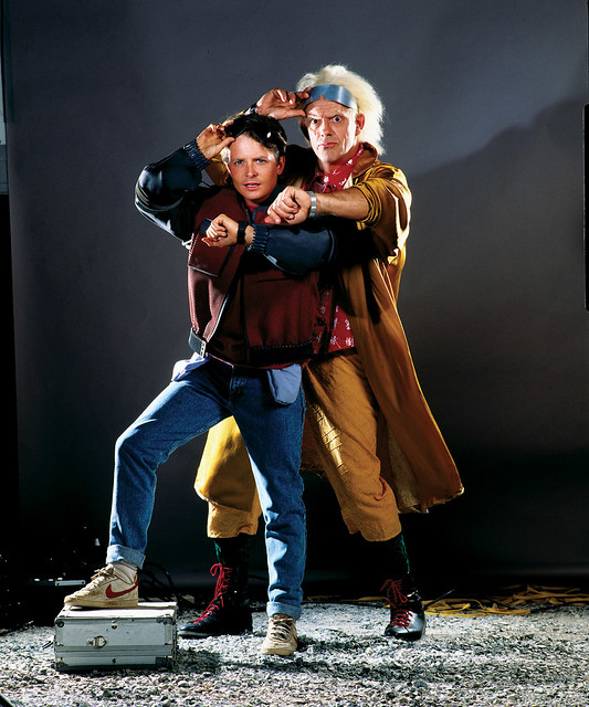 Back to the Future - Trilogy - Promo Shot