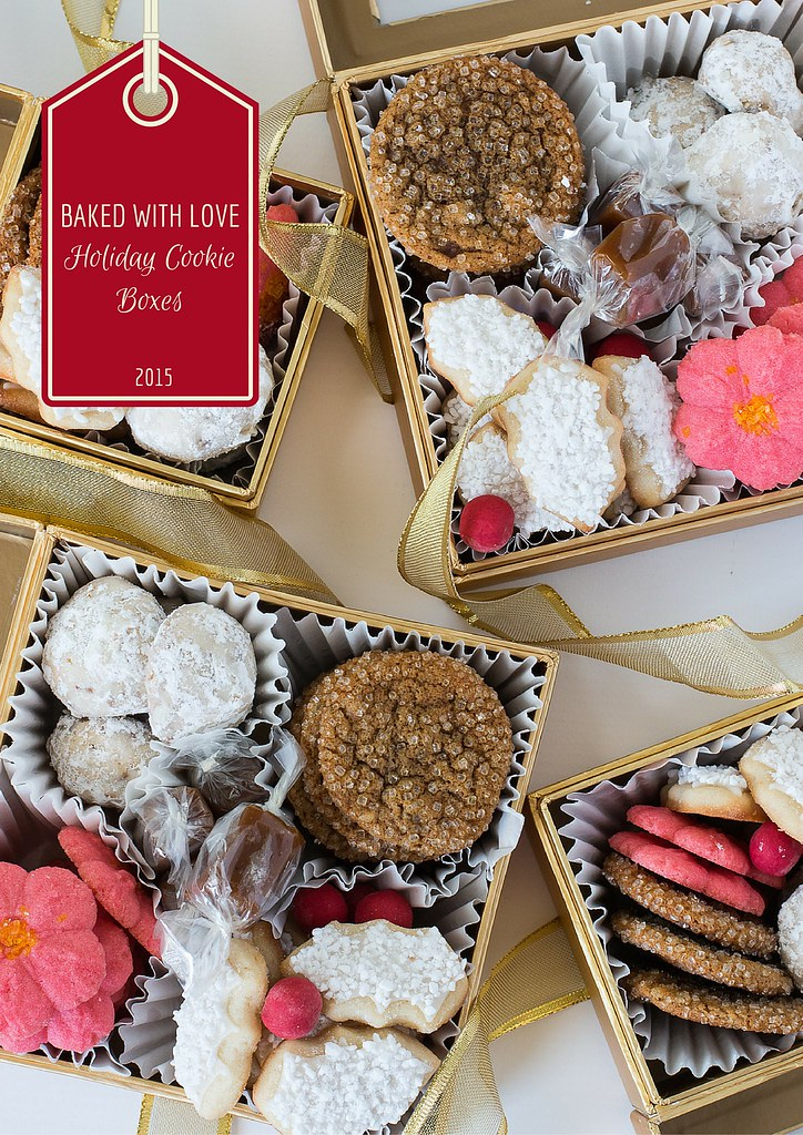 Baked With Love Holiday Cookie Boxes 2015