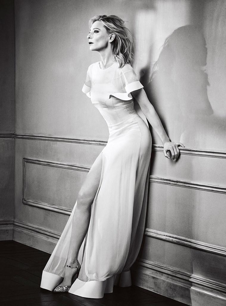 Кейт Бланшетт — Фотосессия для «GQ» 2015 – 4