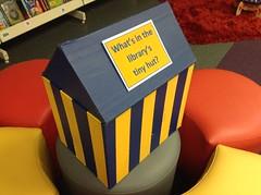 Tiny hut at New Brighton Library