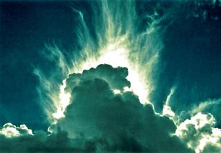 clouds at noon