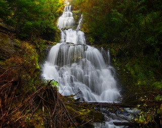 Molalla River Waterfall #1