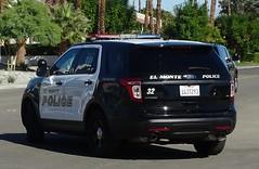 El Monte CA Police - Ford Police Interceptor Utility (2)
