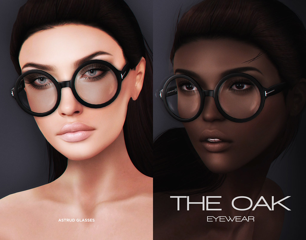 "Oak x On9 / November 2016 ""Astrud"" Glasses - SecondLifeHub.com"
