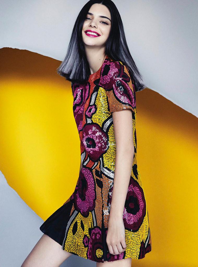 Кендалл Дженнер — Фотосессия для «Vogue» AU 2016 – 7