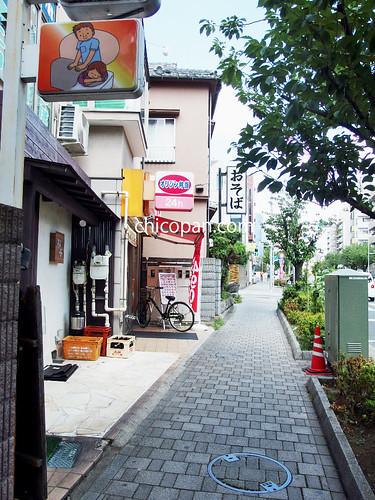 1桜新町駅北口蕎麦そば屋写真画像