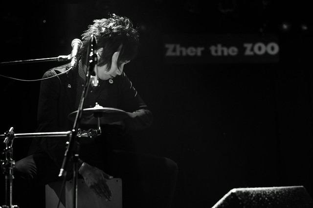 Dannie & Benny live at Zher the ZOO, Tokyo, 12 Aug 2015. 107