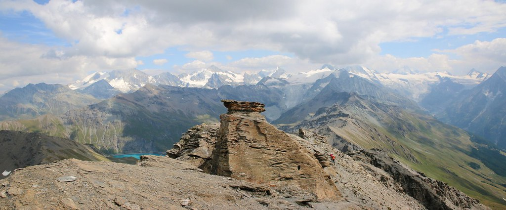 Vue du Sasseneire (3254m)
