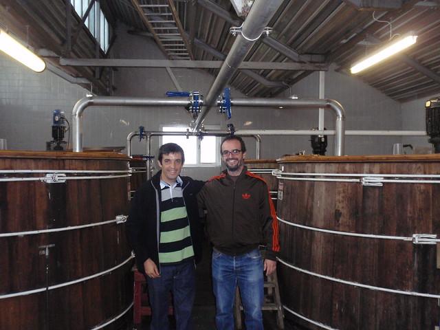 Washbacks at Glenglassaugh distillery