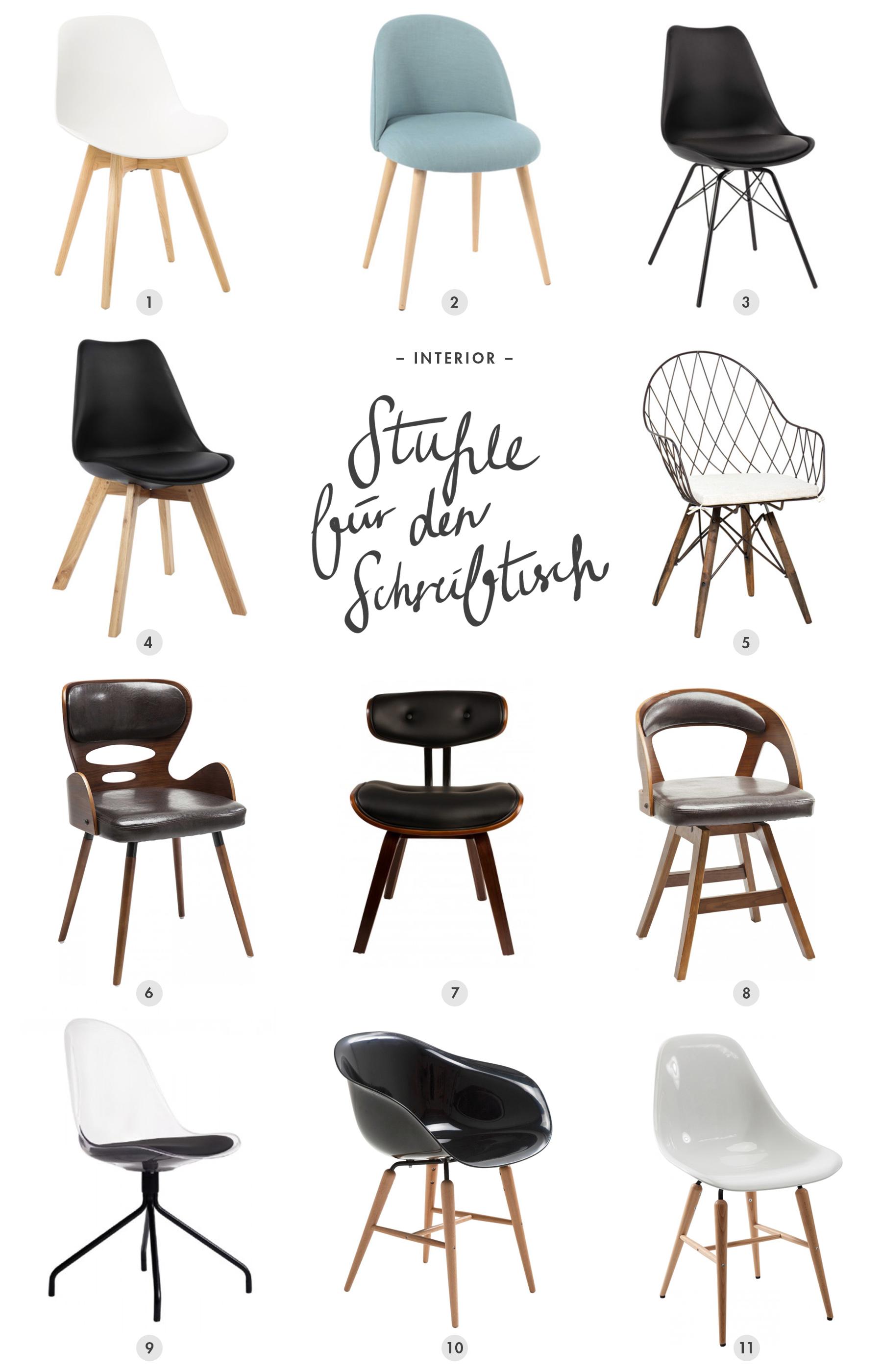 Stuhl für den Schreibtisch