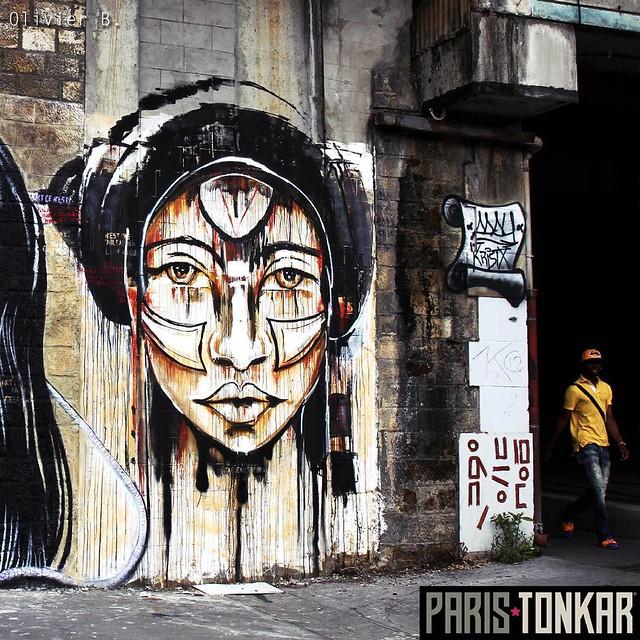 #parcoursaucwin #aucwin #saintdenis #streetart #graffiti #paristonkar #kristx #awesome