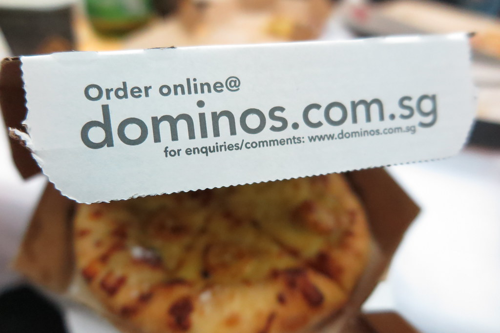 Get your pizza craving satisfied with Domino's today!