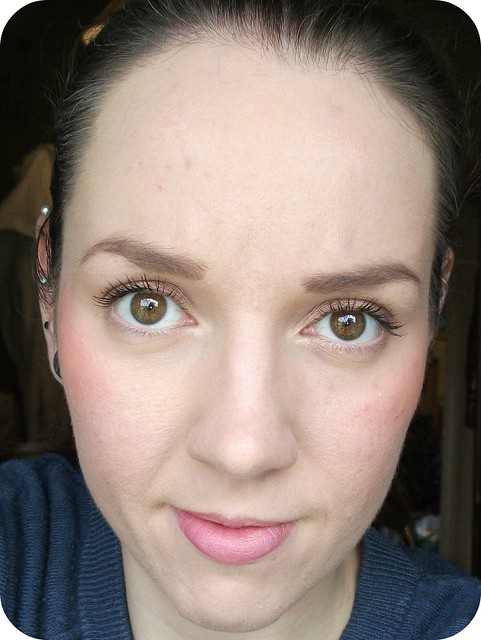 FOTD Five-Brush Beauty