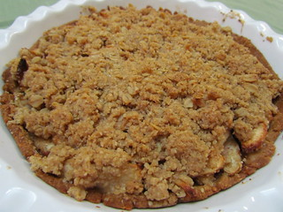 Cranapple Crumble Pie