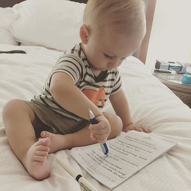 My little note taker by bartlewife